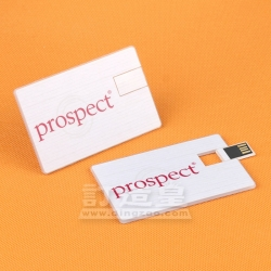 透明名片USB Prospect Resourcing (Asia) Ltd